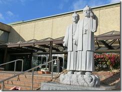 東海市役所の正面入口