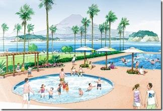 小坪飯島公園のイメージ図