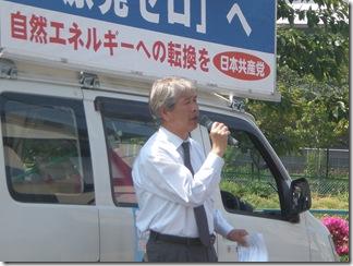ブログ 12.05.07  加藤の街頭宣伝①
