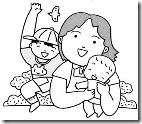 お母さんと赤ちゃん-07