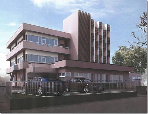 療育・教育の総合センターの完成予想図