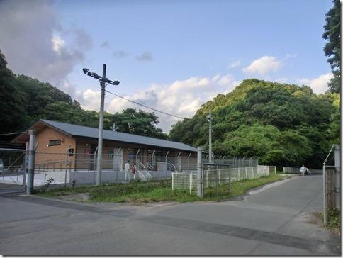ブログ ホタル観察会-2 建物